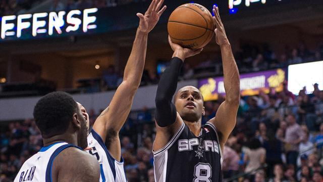 Basketball - Mills steps in to lead Spurs to win over Mavericks