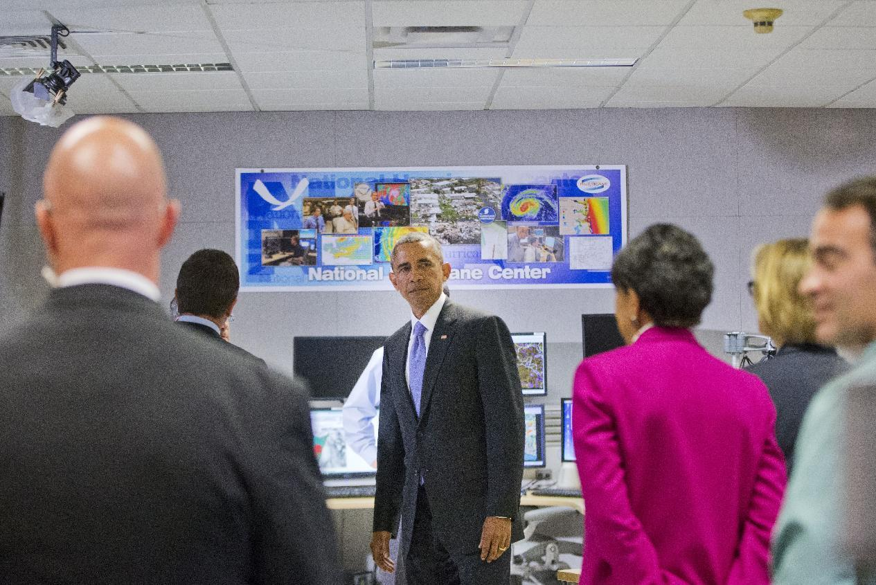 Obama: TX, OK storms a reminder to prepare for disasters