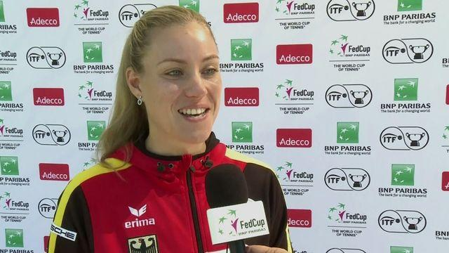 Kerber: Playing Dellacqua will be 'fun'