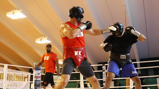 Wladimir Klitschko Training Session