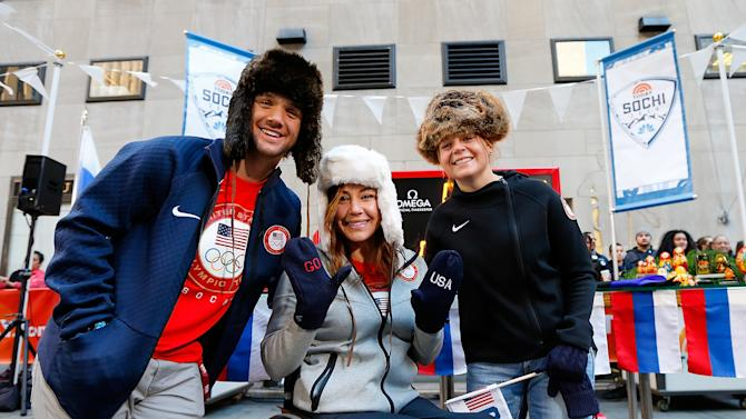 TODAY Show - 100 Days Out Sochi Winter Olympics Event