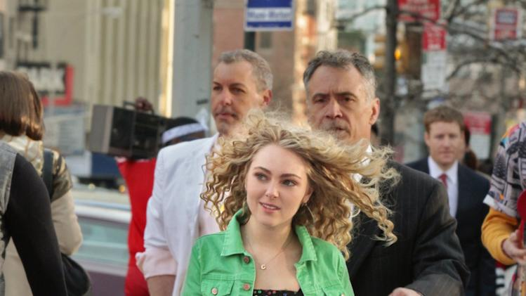"This undated image released by The CW shows AnnaSophia Robb as Carrie Bradshaw in ""The Carrie Diaries.""  The new hour-long drama premieres Monday at 8 p.m. EST on the CW. (AP Photo/The CW)"