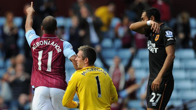 Premier League - Aston Villa rise to third with deserved win over Hull