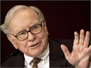 The Plight of the Daily Newspaper image Warren Buffett