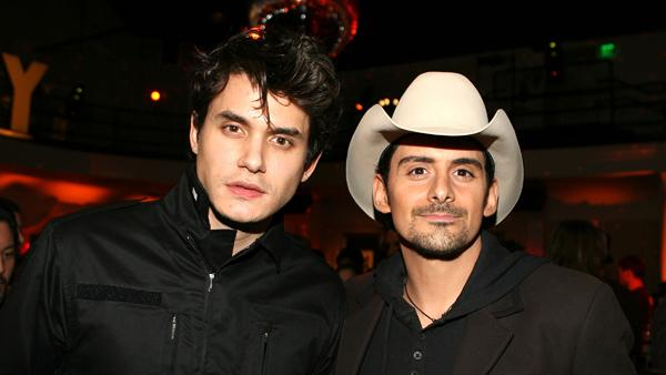 John Mayer to Join Brad Paisley Onstage at ACM Awards