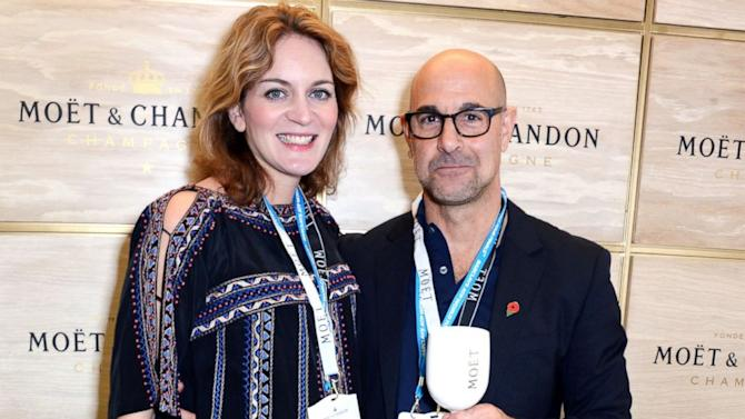 why stanley tucci panicked after proposing to felicity