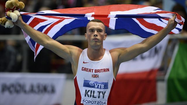 Athletics - Kilty looks to underline promise in breakthrough year