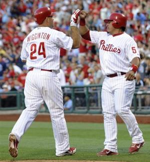 Ruiz, Wigginton lead Phillies over Pirates, 5-4