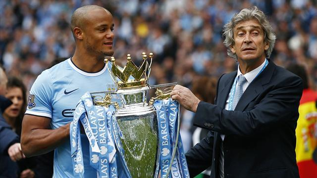 Premier League - Pellegrini keen to improve 156-goal City, eyes dominance