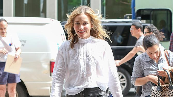 Piper Perabo spotted arriving at the Sirius Radio in New York City
