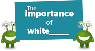 The Importance of White Space in Web Design image the importance of whitespace