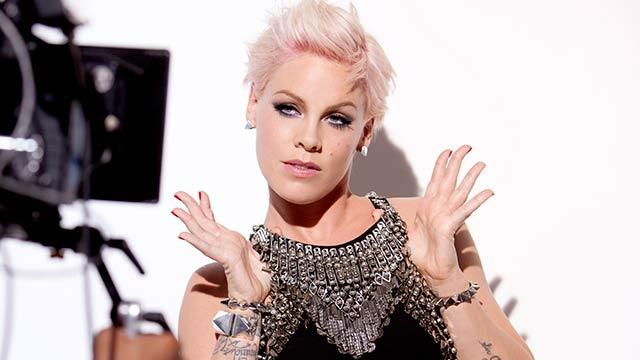 Pink Tackles Alicia's 'Girl On Fire'