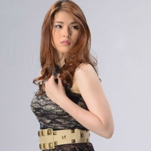 "Kylie Padilla plays the lead role in the TV remake of ""Blusang Itim"" (Courtesy of GMA-7)"