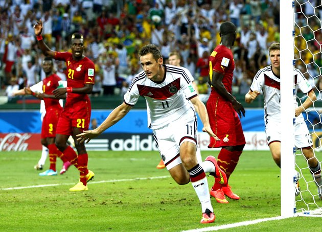 Forget boring club football, it's breaking these records that counts for Klose