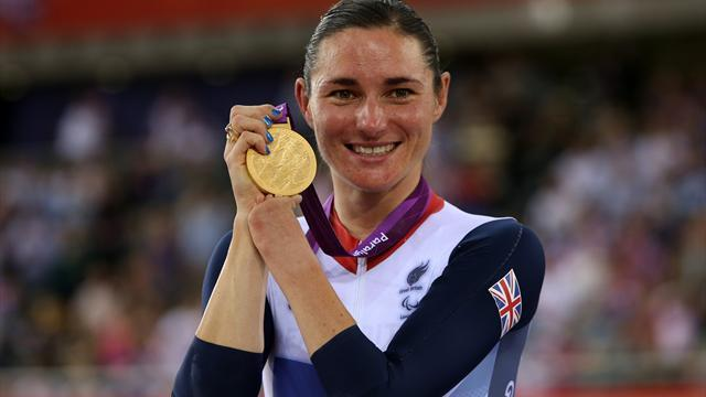 Storey wins GB's first gold at Paralympics, medal for Colbourne