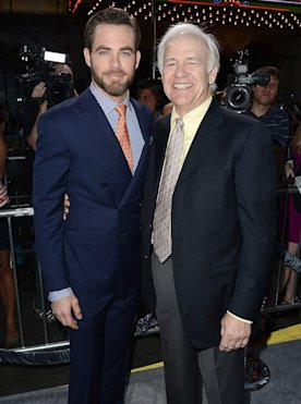 Chris Pine and Robert Pine