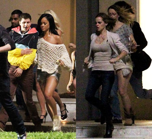 New BFF Alert: Rihanna And Emma Watson Film 'The End Of The World'