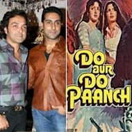 Abhishek Bachchan-Bobby Deol To Team Up For 'Do Aur Do Paanch' Remake