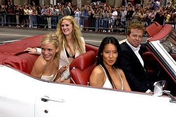 Premiere: Cameron Diaz, Drew Barrymore, Lucy Liu and McG at the LA premiere of Columbia's Charlie's Angels: Full Throttle - 6/18/2003