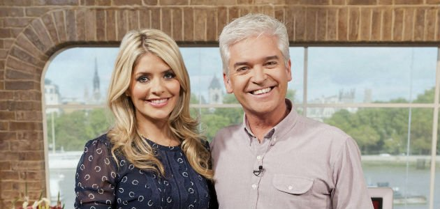 Schofield... sorry about flashing names on 'This Morning' (Copyright: ITV)