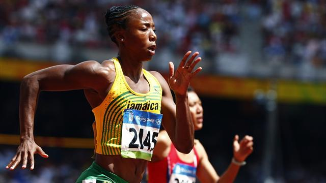 Athletics - Jamaican sprinter Simpson handed 18-month doping ban