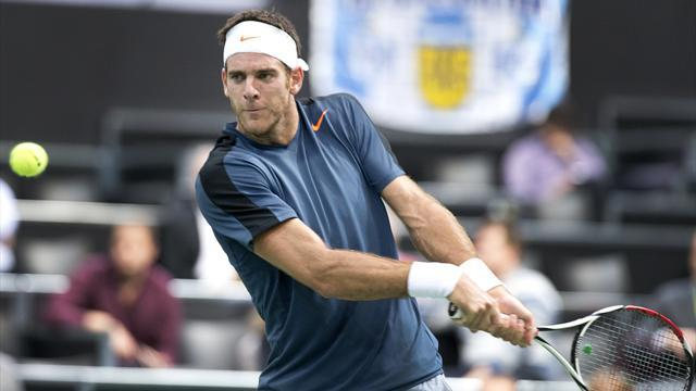 Davis Cup - Del Potro turns down Argentina over 'two-faced' approach