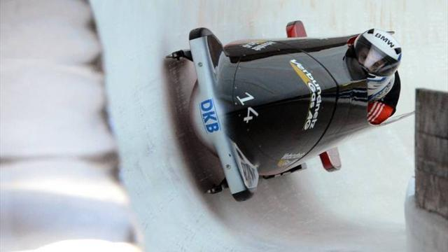 Bobsleigh - Arndt leads German clean sweep in Altenberg