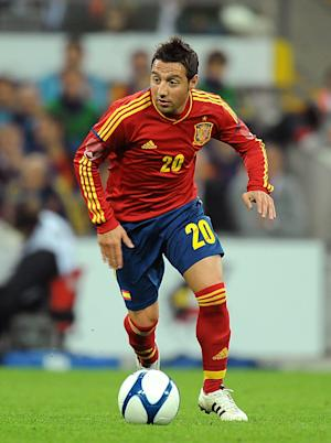 Santi Cazorla is in London finalising his move to Arsenal