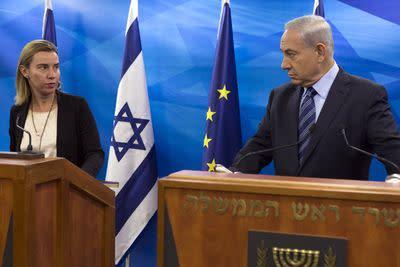 This week's bitter dispute between Europe and Israel, explained