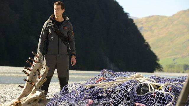 Grilling Bear Grylls About 'Get Out Alive'