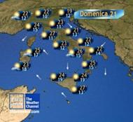 Meteo Weekend: nubi al Nord, sole al Sud