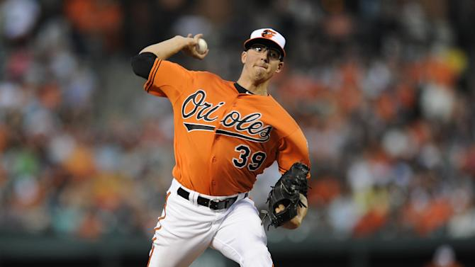 Gausman earns 1st win as starter, O's beat A's