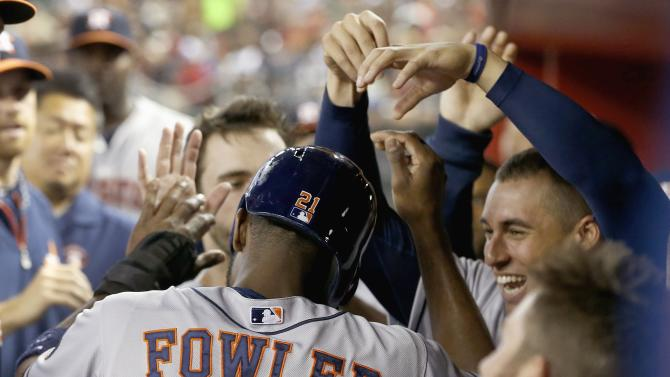 Unusual move helps Astros beat Arizona 4-3