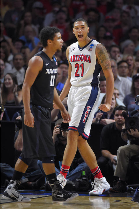Arizona outlasts Xavier 68-60 to reach West region finals