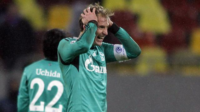 Champions League - Schalke hopes dented by goalless draw in Bucharest