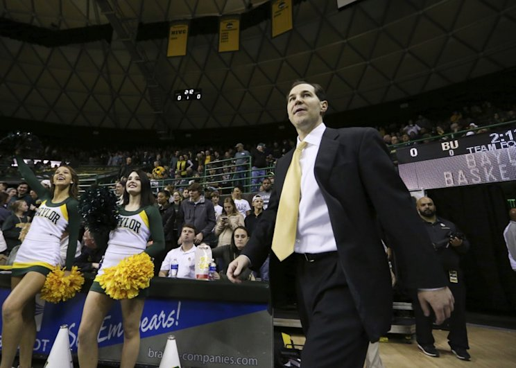 Baylor's Scott Drew is among the midseason favorites for coach of the year (AP).