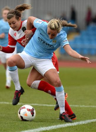 Soccer - FA Women's Super League - Manchester City Ladies v Bristol Academy Women - Manchester SportCity