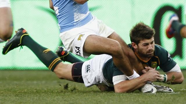Championship - South Africa score nine tries in Argentina rout