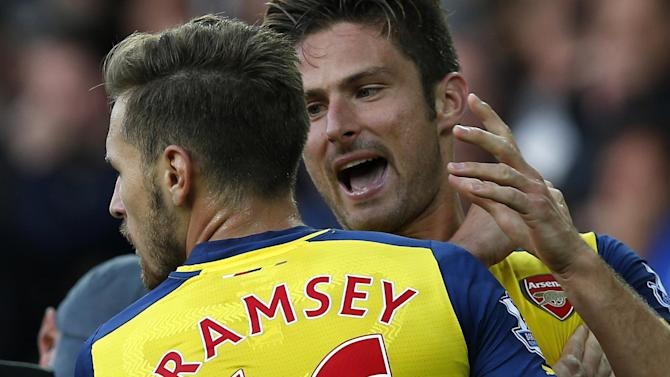 Champions League - Arsenal fear injured Giroud will miss crucial game