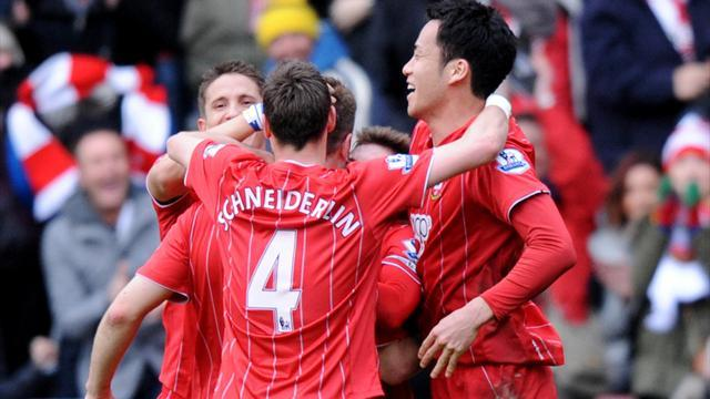 Premier League - Superb Southampton stun Liverpool