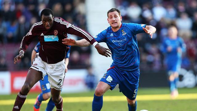 Scottish Football - Round-up: Inverness go second with win at Hearts