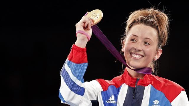 Taekwondo - Jones finds her hunger again since striking gold