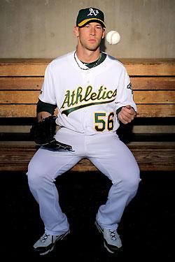 A's pitcher Breslow is a bighearted brainiac