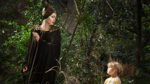 Angelina Jolie and Vivienne Jolie-Pitt, 'Maleficent' -- Disney