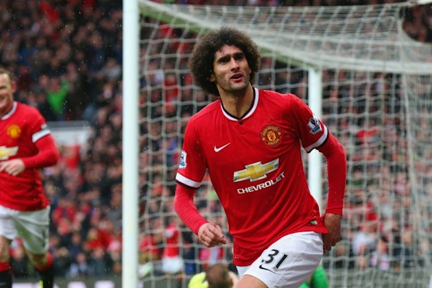 Marouane Fellaini - not to be confused with his brother Mansour