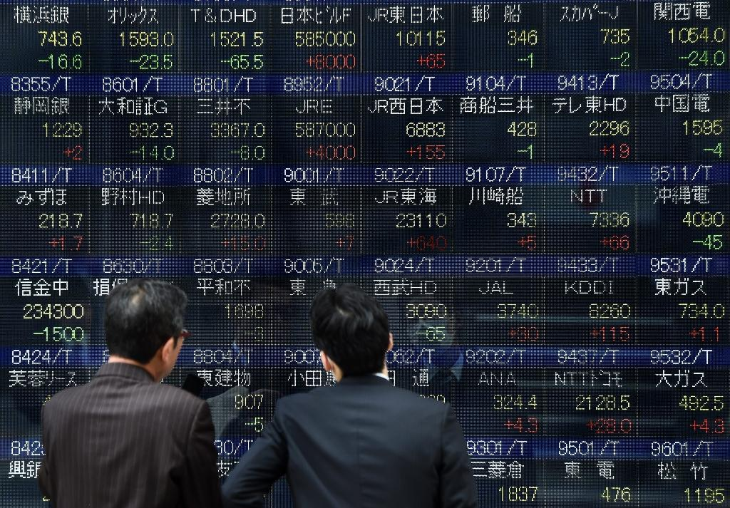 Asia markets mostly lower after Wall St losses