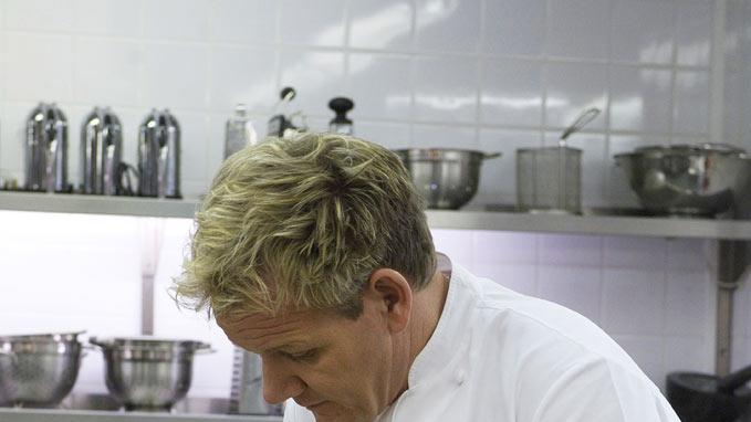 "Gordon Ramsay stars in ""Gordon Ramsay's F Word."""