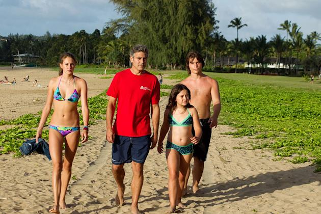 The Descendants 2011 George Clooney Shailene Woodley Amara Miller Nick Krause