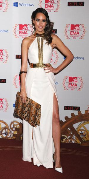 Best dressed: Louise Roe