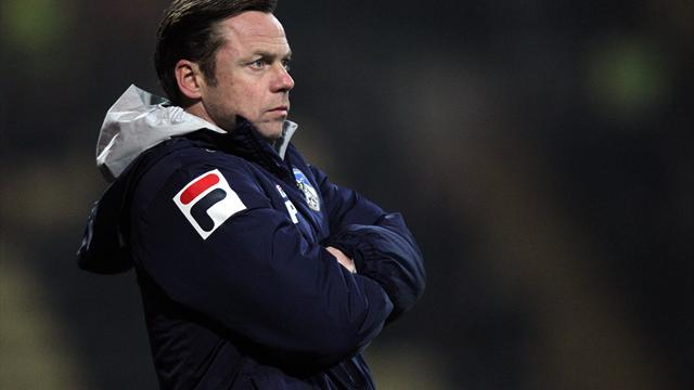 Football - Cup upset earns Dickov breathing space